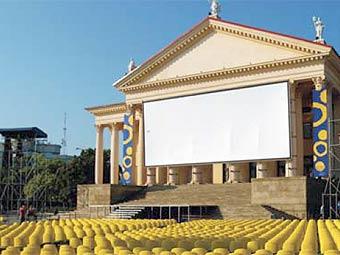 Zimny teatr during Kinotavr open russian film festival