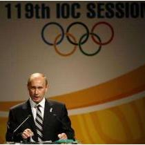 Vladimir Putin for Sochi Olympics