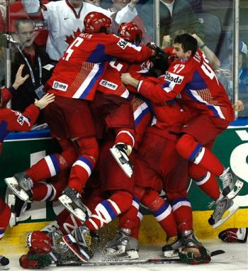 Russia Ice Hockey World Champions!