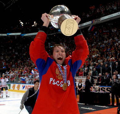 Russia Ice Hockey World Champions 2008!