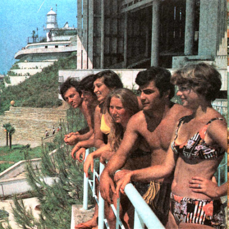 Sochi tourists in 80's
