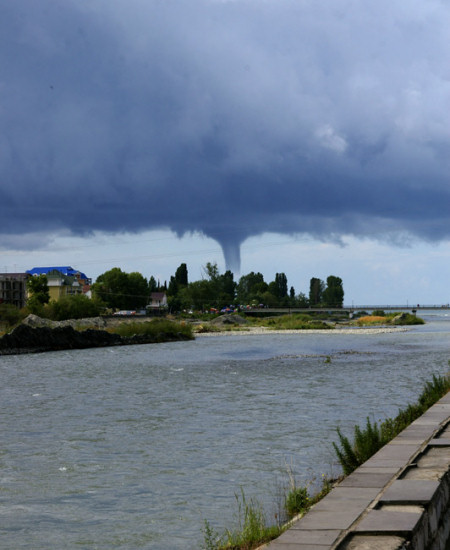 Tornado in Sochi, 2008