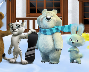 Official Sochi 2014 Olympic Mascots