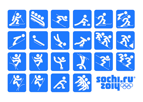 Official Sochi 2014 Pictograms