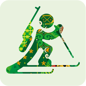 Sochi 2014 biathlon pictogram