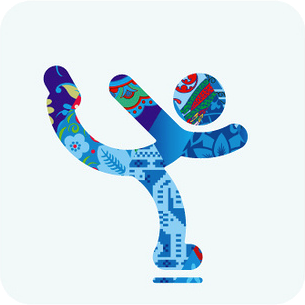 Sochi 2014 figure skating pictogram